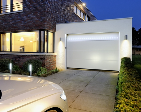 Barre led per le porte da garage il commercio edile