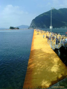 The Floating Piers (foto di Paola Vitaliani)